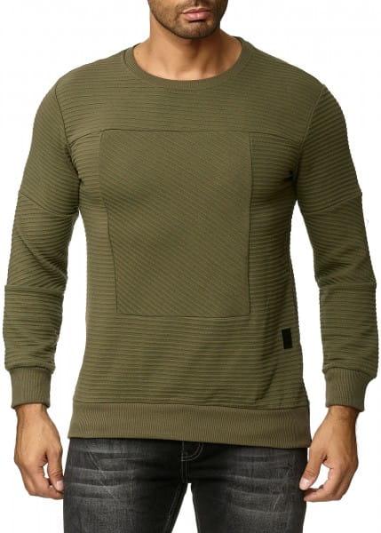 OneRedox Pull à capuche pour homme Sweat à capuche Sweat Hoodie Sweat Jacket à manches longues Sweatshirt manches longues Modèle de base 1157